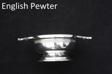 Woodcock Sitting Quaich Christening Gift Drinking Bowl
