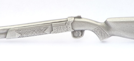 A Shotgun Letter Opener Paper Knife Over and Under Shooting Gift