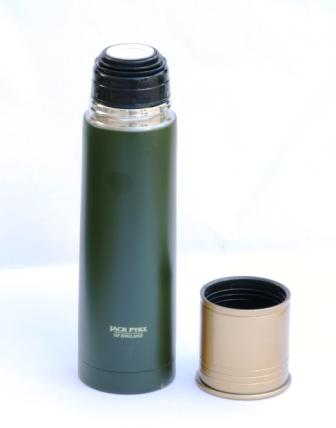 500ml Shotgun Cartridge Shooting Vacuum Flask for Hot and Cold