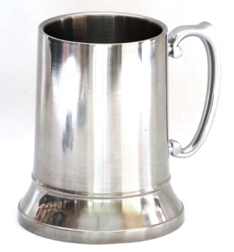 how to clean stainless tankard