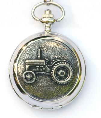 Vintage Tractor Grey Fergie TE20 Pocket Watch FREE ENGRAVING