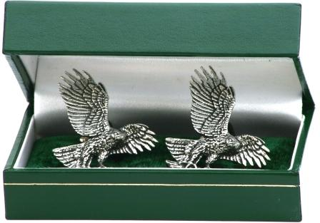 Falconry Gift Idea Eagle Landing Cufflinks Ideal Present 113