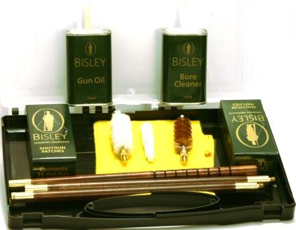 12  Bore Shotgun Cleaning Kit & Rods by Bisley