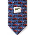 MF35 and TE20 Massey Ferguson Tractor Design Silk Tie