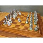 Game Shooting Theme Pewter Chess Set Collectable Gift