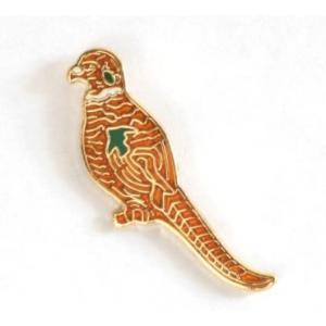 Cock Pheasant enamel pin badge ideal shooting gift