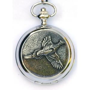 Pheasant Shooting Pocket Watch Gift Boxed FREE ENGRAVING
