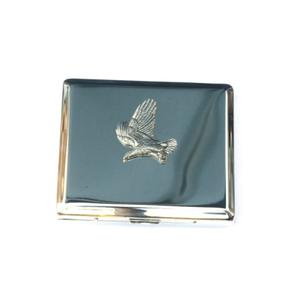 Flying Eagle Design Cigarette Case With Free Engraving 112
