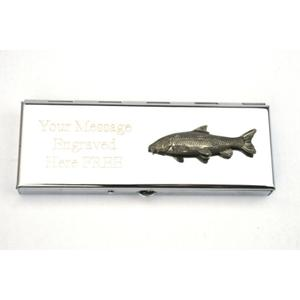 Barbel Fish Weekly Pill Box Personalised Gift