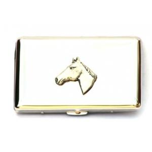 Horse Head Cigarette Tin Ideal Equestrian Gift For Rider Owner T