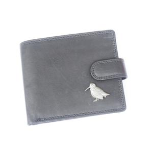 Woodcock Sitting Leather Wallet Shooting Gift