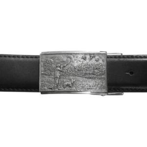Shooting Scene Belt Buckle and Leather Belt Ideal Shooting Gift