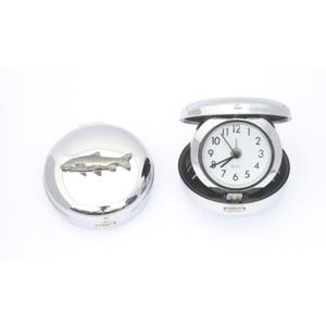 Barbel Fish Style Quartz Travel Alarm Clock Fishing GIft
