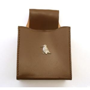 Woodcock Sitting Cartridge Box Holder With Belt Loop Gift