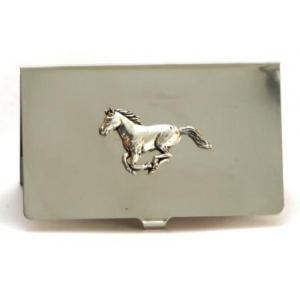 Horse equestrian business card holder riding gift wallets horse equestrian business card holder riding gift colourmoves