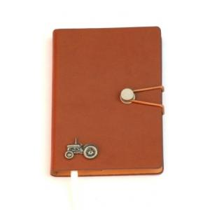 Tractor Pewter Motif A 6 Notebook Pocket Size Note Pad Ideal Far