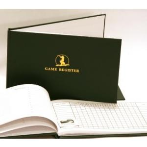 Game Register Shooting Record Journal Book