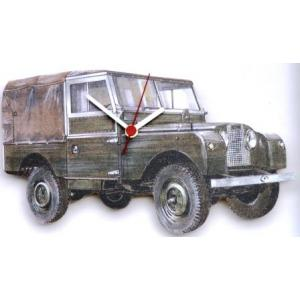 land rover wall clock hand made in uk gift boxed clocks. Black Bedroom Furniture Sets. Home Design Ideas